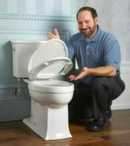we install low flow toilets
